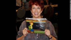 Marcia Wallace of The Simpsons