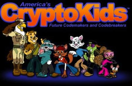 NSA kids website character bios