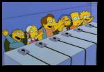 Simpsons kids Poochy panel