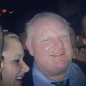Rob Ford in Vancouver 2014