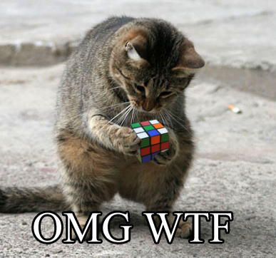 LOL Cat rubix cube