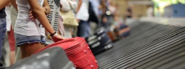 Air Canada luggage drop.