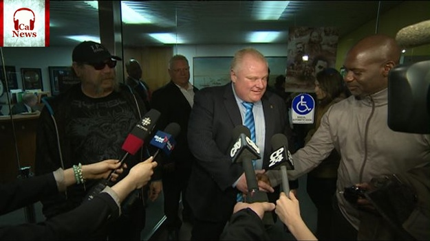 Rob Ford, Ben Johnson, Sam Tarasco